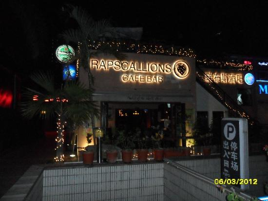 Rapscallions Cafe Bar: Raps