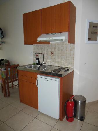 Perla Apartments: Angolo cottura