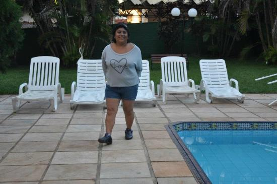 Foz Presidente Hotel: Pileta de el Hotel Presidente en Foz de Iguazu..