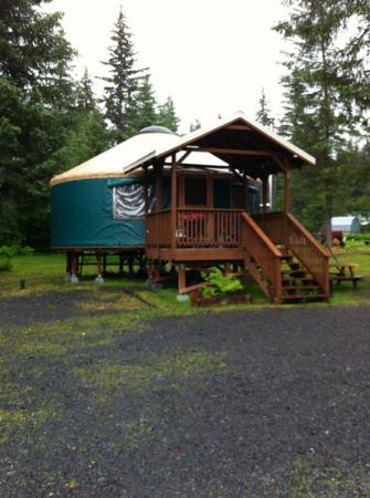 Sourdough Sue's Yurts: Great Place to Stay