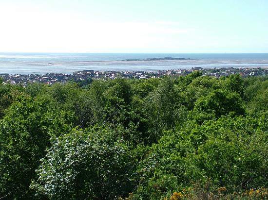 View of West Kirby, Caldy Hills.