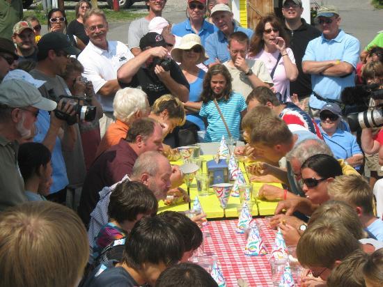 Wannawaf: Charity Waffle Eating Contest