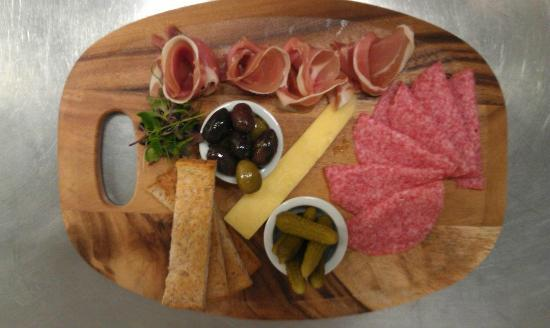 the green room: charcuterie