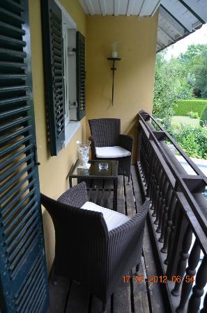 Pension Prinz: Balkon