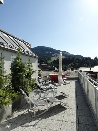 AlpenParks Hotel & Apartment Maria Alm: roof top spa