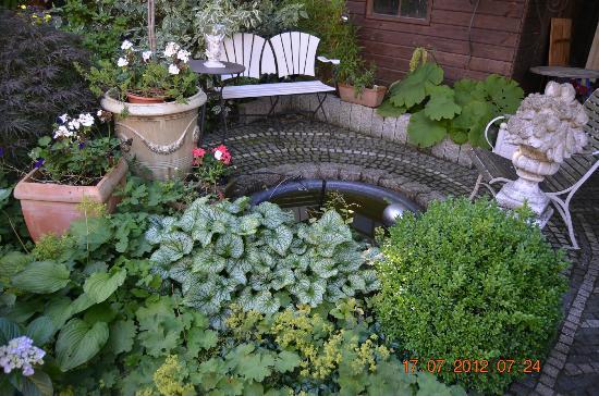 Pension Prinz: Garten