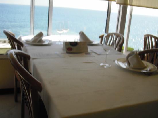 Restaurant La Cucanya: great view from inside