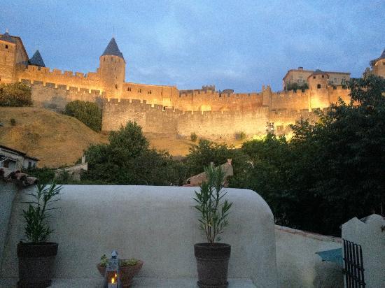 La Posada del Castillo B&B: Terrasse de La Posada