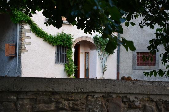 Case Vacanze Podere Ugolini: l'ingresso del nostro alloggio