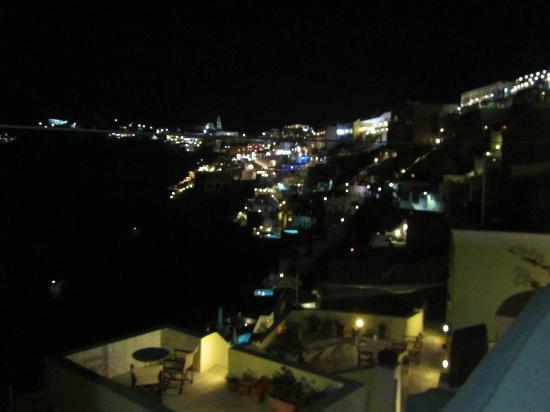 Scirocco Apartments: thera dalla terrazza
