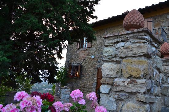 Case Vacanze Podere Ugolini: scorcio del vicoletto adiacente al nostro alloggio