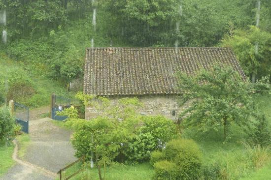 Ferme de la Vallee d'Arche: View from room