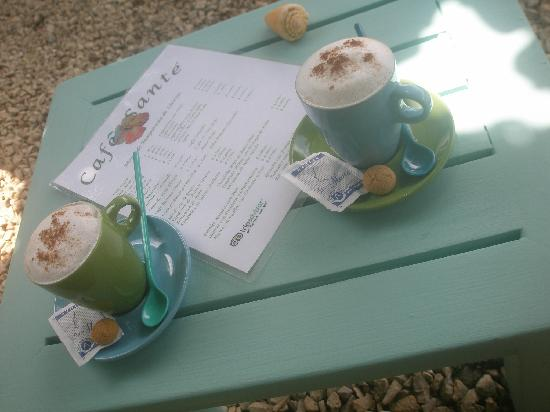 Cafe Sante: The best Cappuccino