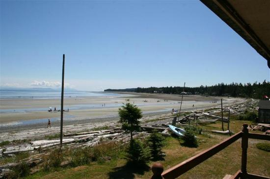 Taylor's Sandy Beach Resort: Window view of Saratoga beach