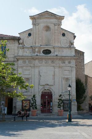 Mas du Pont Roman : Dieses Foto ist im nahegelegenen Forcalquier entstanden. Cinema Paradiso?