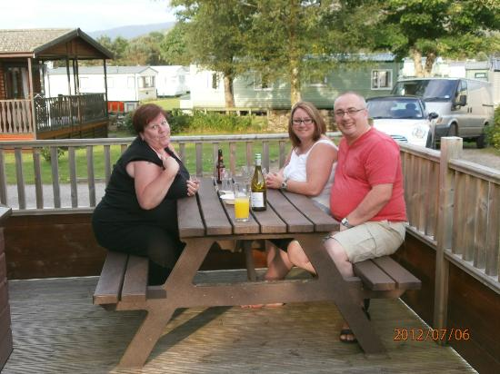 Tralee Bay Holiday Park: sunny