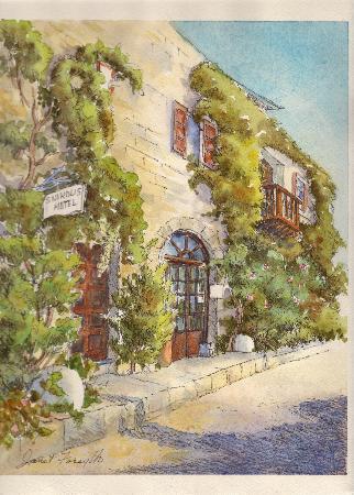 S. Nikolis Hotel & Apartments: paint