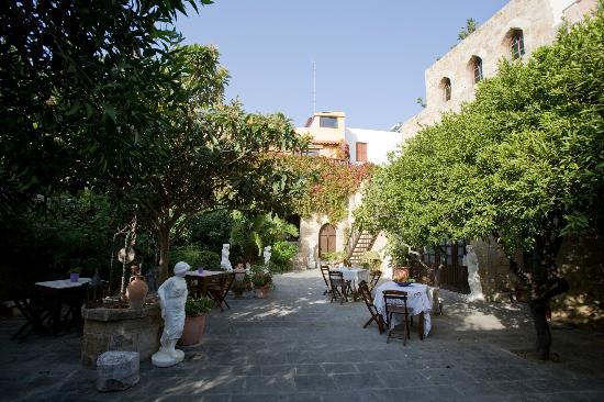 S. Nikolis Hotel & Apartments: garden