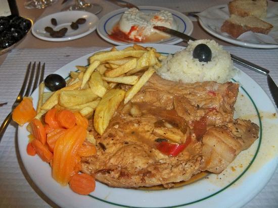 Restaurante Nacional: Main Course