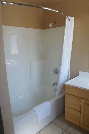 Reynolds Hotel : Clean, fresh bathroom