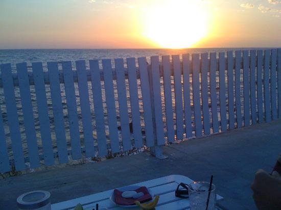 Sunset Deseo : tramonto dal bar