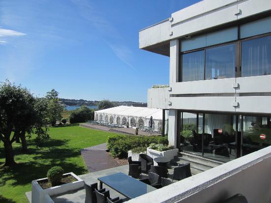 Radisson BLU Hotel Haugesund: Utsikt fra rommet.....