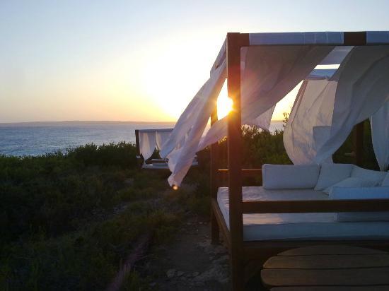Es Ram Resort: ...tramonto a es ram