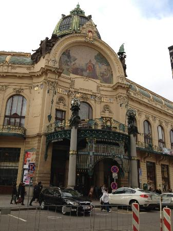 Prague Day Trips : Site along the way of the walking tour