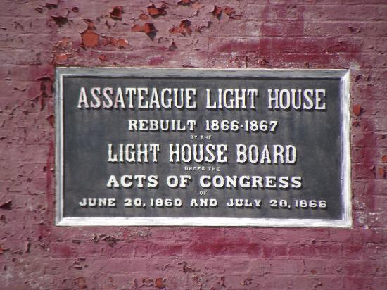 Assateague Lighthouse: Assateague Light House