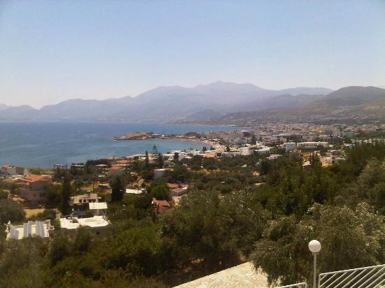 Hersonissos Village Hotel : view from the hotel and room