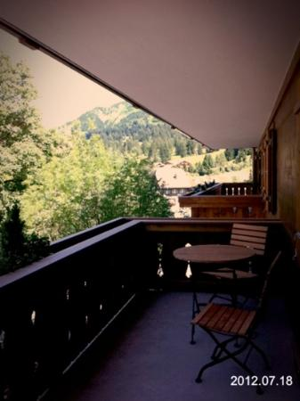 Hotel des Alpes by Bruno Kernen: Balkon mit Aussicht
