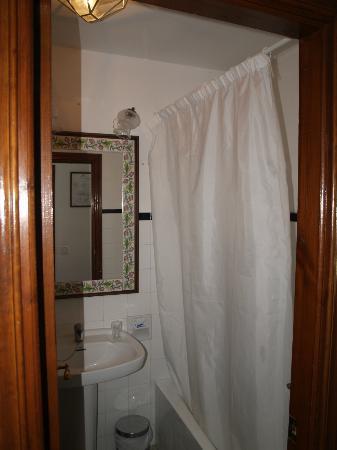 Hotel Las Truchas: Badhokje.