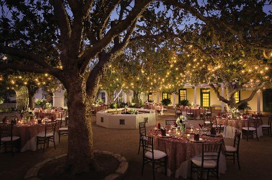 Portola Hotel & Spa at Monterey Bay: Weddings at Memory Garden