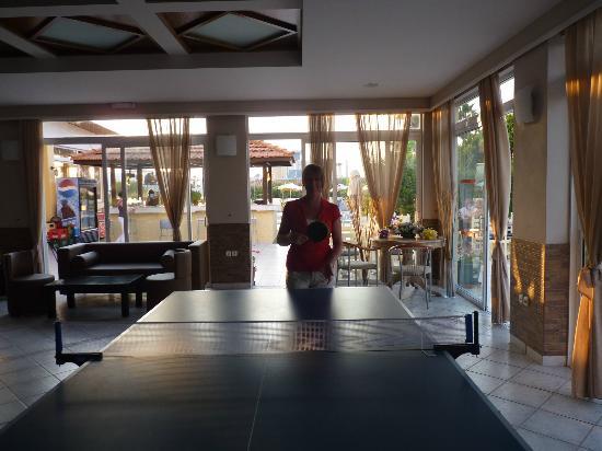 Nefeli Hotel: ping pong