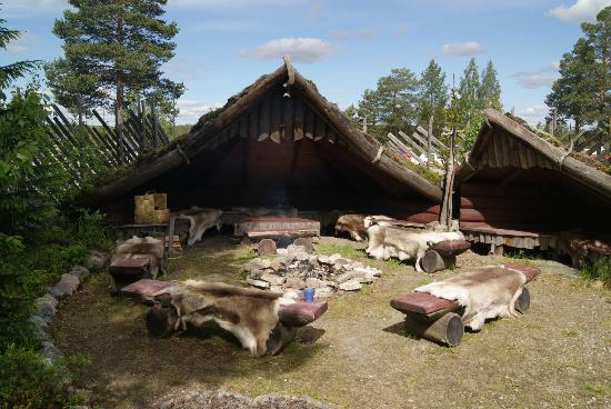 Santa Claus Village: Renntierlager