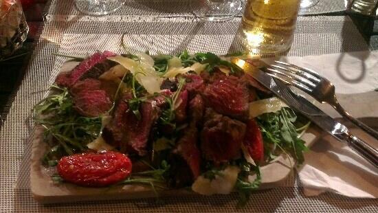 Gaglio: Beef sallad - excellent