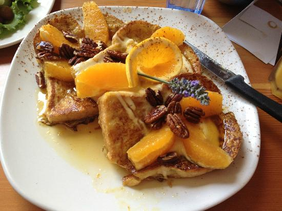 blue fox cafe orange wafflesyum