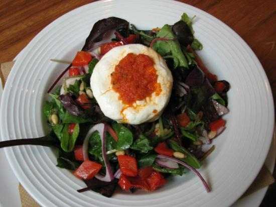 Charcoal Steakhouse: Goat Cheese Salad