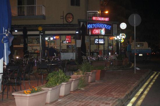 Knickerbocker Restaurant: Knicker Bocker Restaurant-Cafe-Bar,Qawra/MALTA