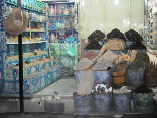 Old Market: Un negozio di spezie!