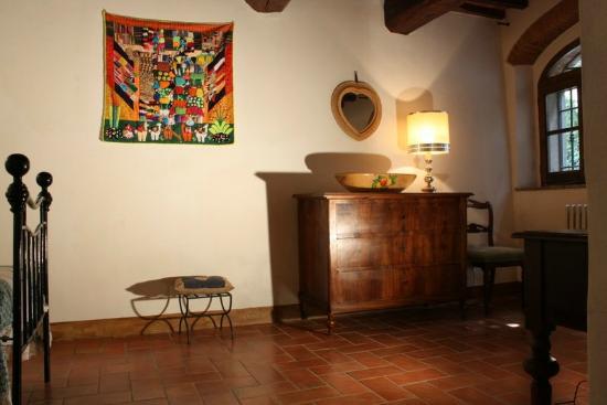Villa La Nussa: Camera delux