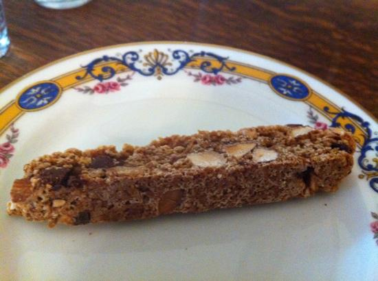 The Livingston Inn: best biscotti