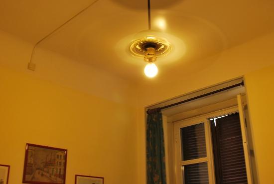 Hotel Giada: queria mostrar o ventilador de teto