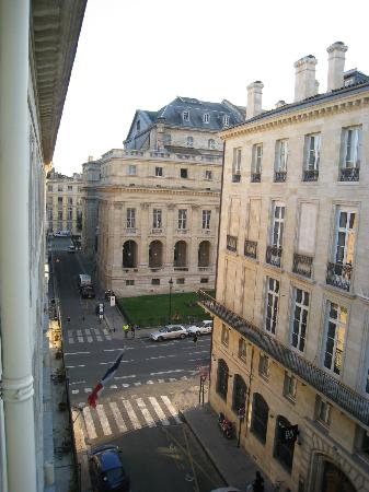 Hotel Majestic : View out of the window/balcony