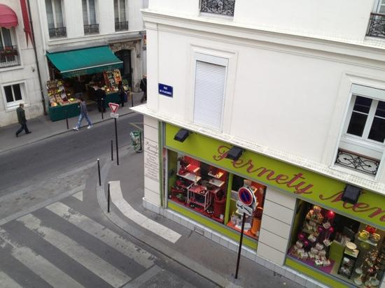 Le 55 Montparnasse Hotel: View from our room