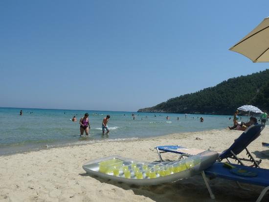 Thásos, กรีซ: View Of Beach
