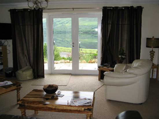 Briar Cottages: View from living room