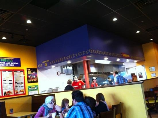 Barberitos Downtown: knoxville location