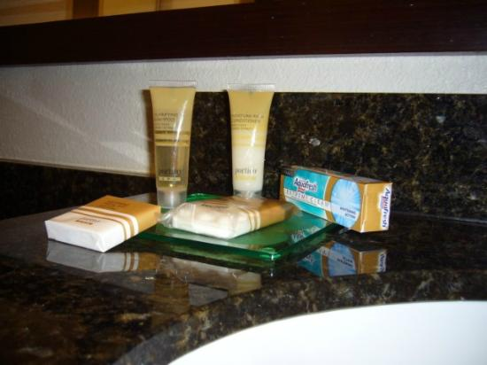 Hyatt Place Nashville/Franklin/Cool Springs: Toothpaste, too!