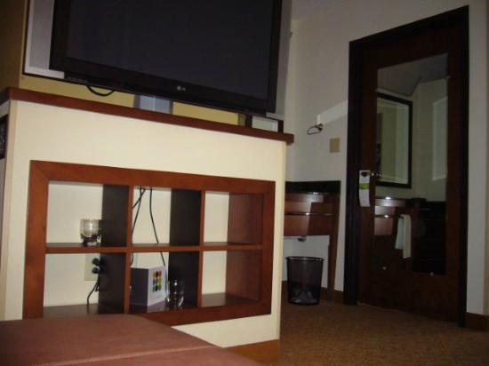 Hyatt Place Nashville/Franklin/Cool Springs: Storage under the TV